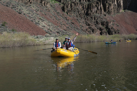 Owyhee, Jarbidge, Bruneau Whitewater River Rafting Family Fun
