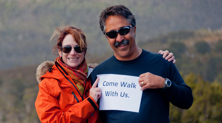 Come Walk With Us.