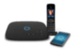 Ooma Telo, HD3 Hanset, cellphone