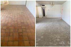 Saltillo Tile Floor Removal & Disposal in Phoenix, AZ