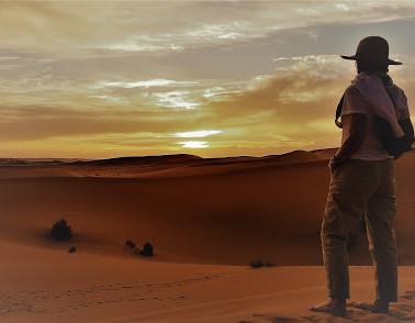 Taste and Smell The Desert Sunset!
