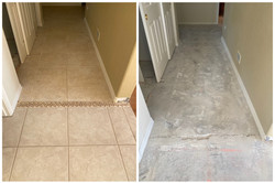 Ceramic Tile Flooring Removal & Disposal in Phoenix, AZ