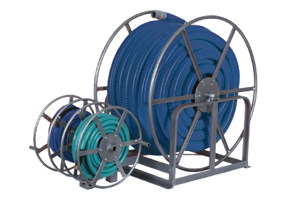 Triple Storage Electric Hose Reel - 200 Feet