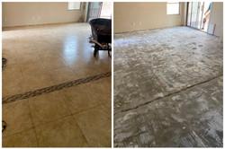 Porcelain Tile Floor Demolition in Tempe, AZ