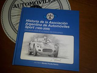 Presentación del libro Historia de la Asociación Argentina de Automóviles Sport (1958-2008) en el CA