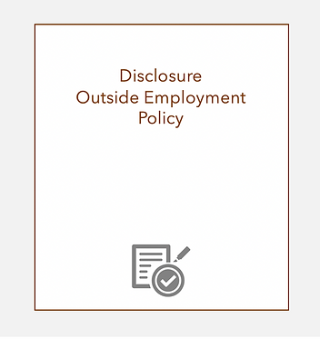 Disclosure Outside Employment Policy