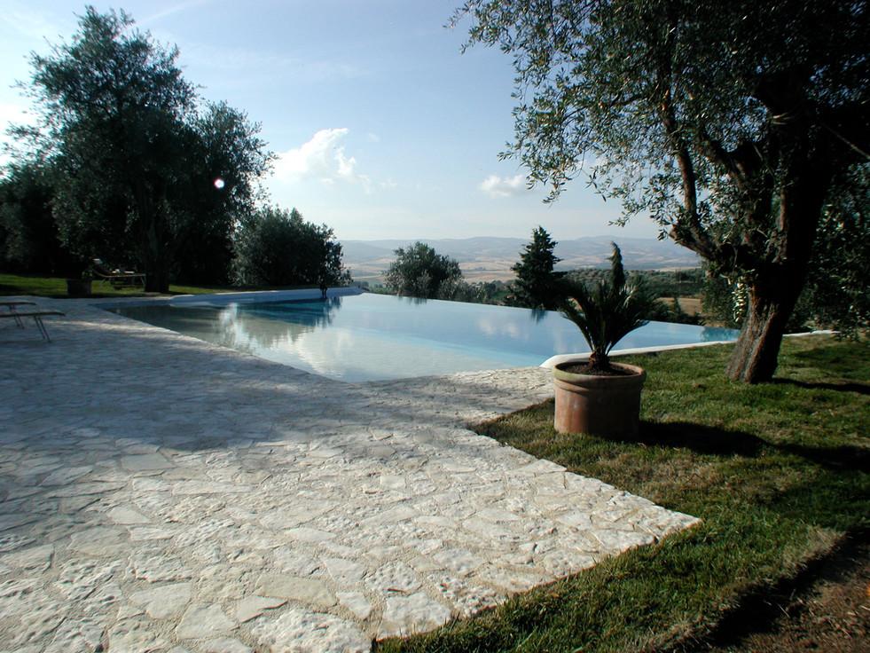 Private pool Montemerano / Italy