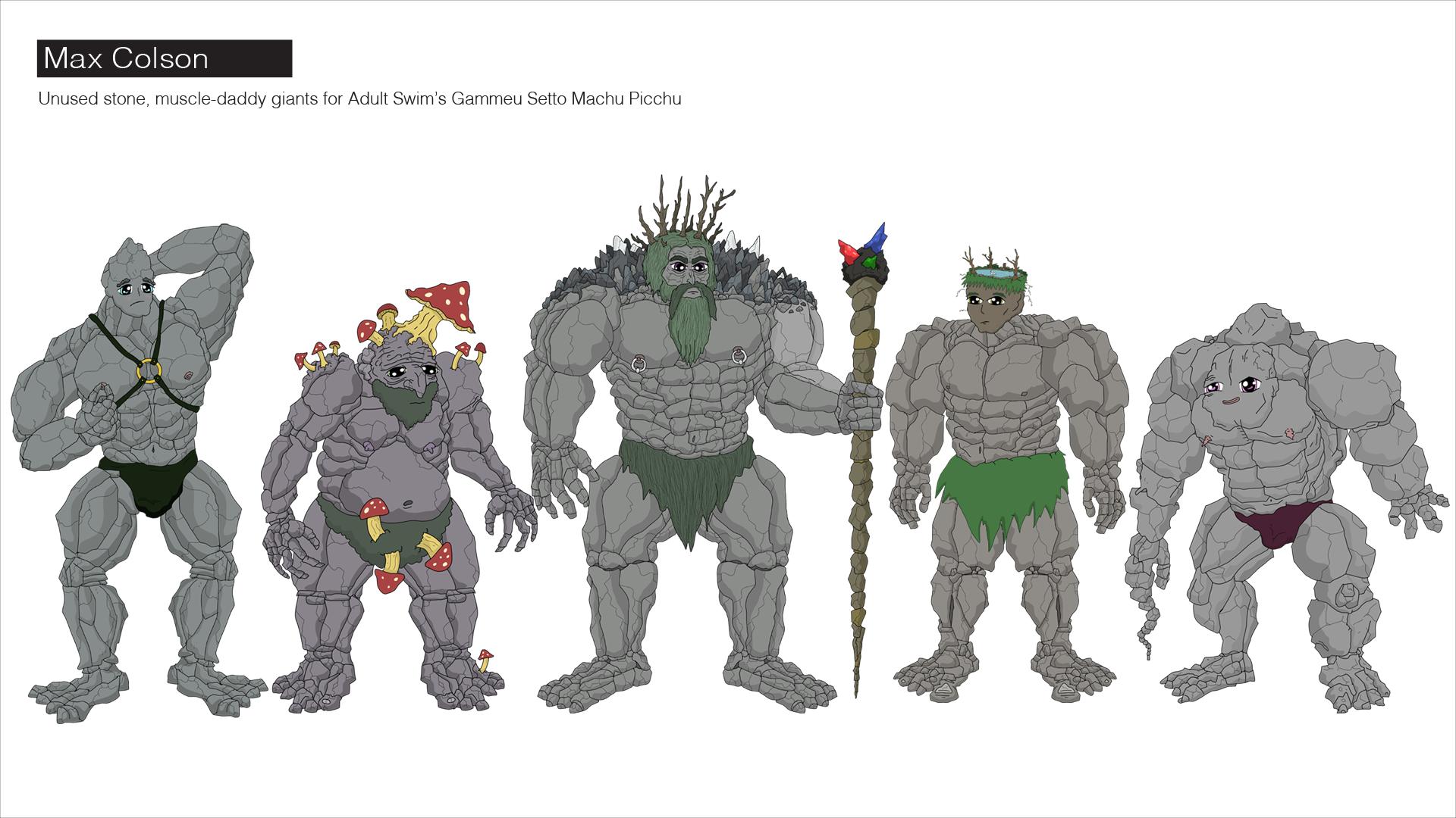 muscle giants