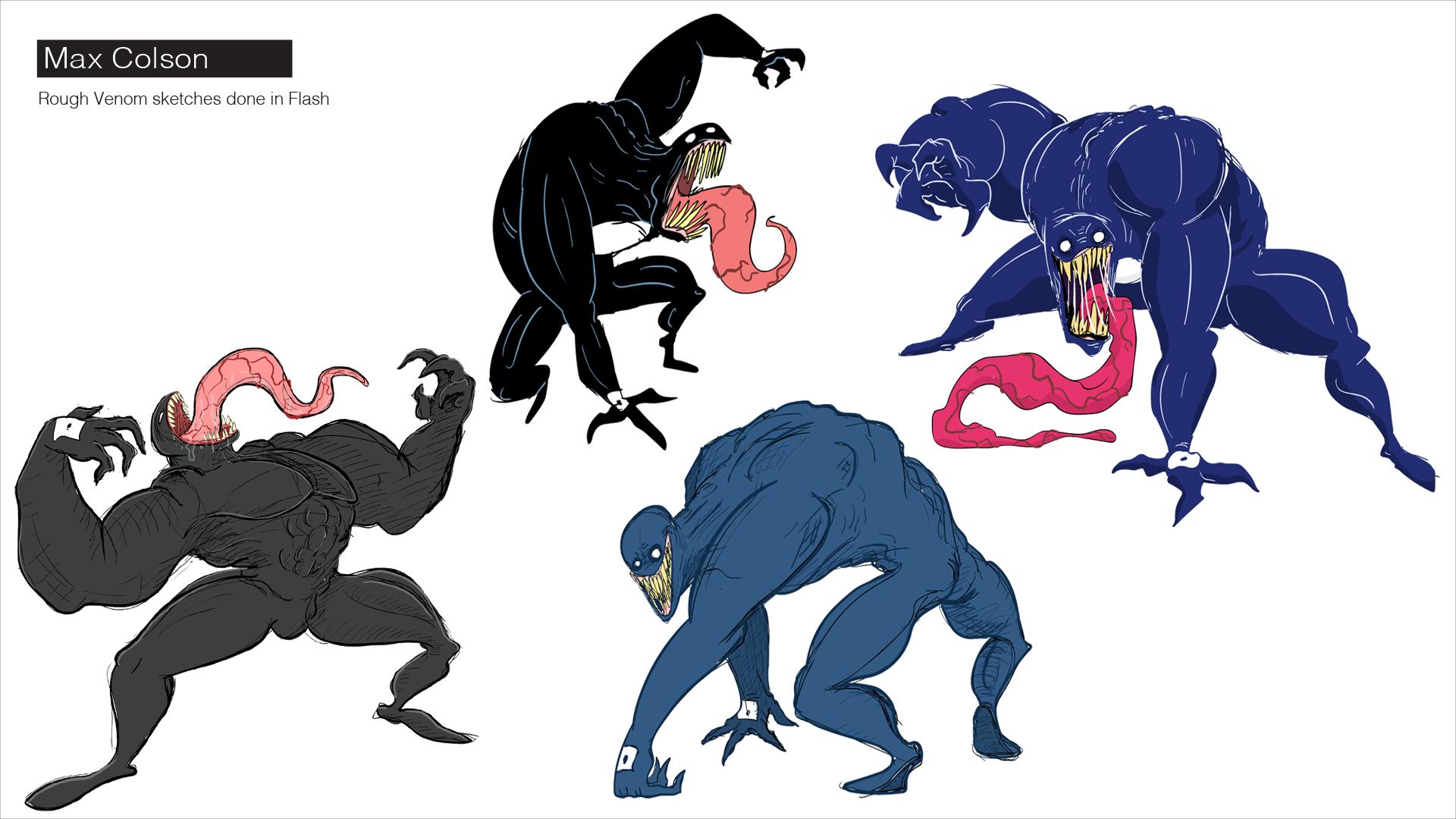 venom sketches