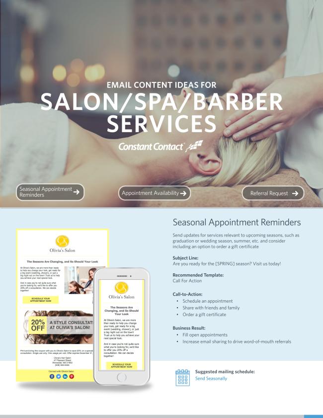 Salon, Spa, & Barber Services