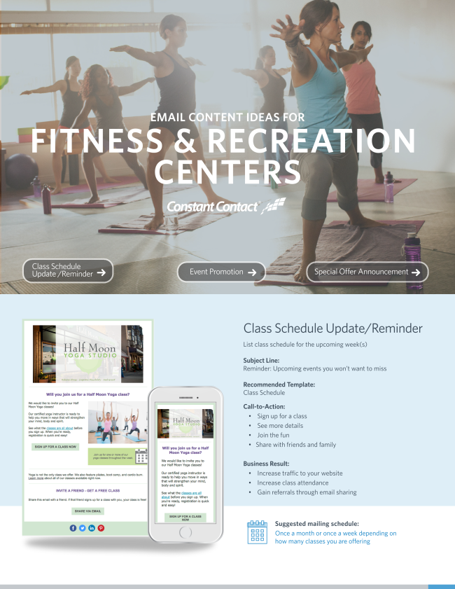 Fitness & Recreation Centers