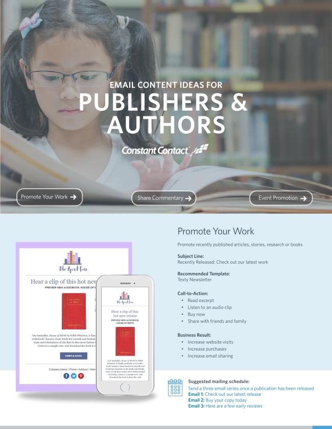 Publishers & Authors