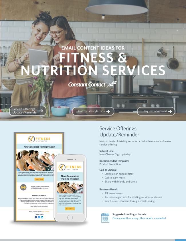 Fitness & Nutrtion Services
