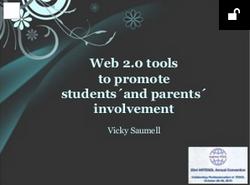 Web 2.0 tools to promote involvement