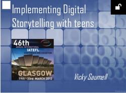 Digital Storytelling with Teens