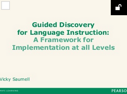 Guided Discovery for Lang. Instr.