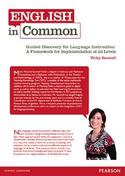 Guided Discovery for Language Instruction (March, 2012)