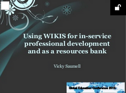 Using wikis for in-service PD