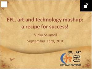 EFL, art and technology mashup