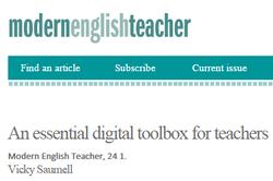 Essential Digital Toolbox for Primary Teachers (January 2015)