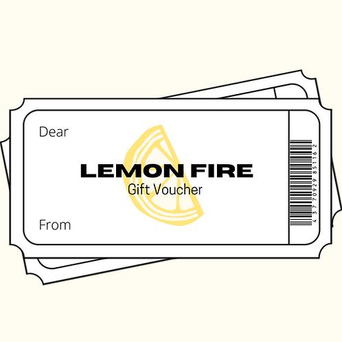 £50 Lemon Fire Gift Voucher