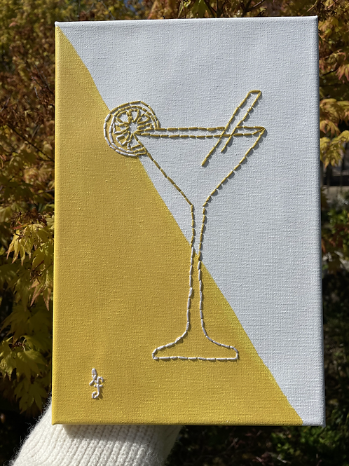 Cocktail Canvas (ready to buy)