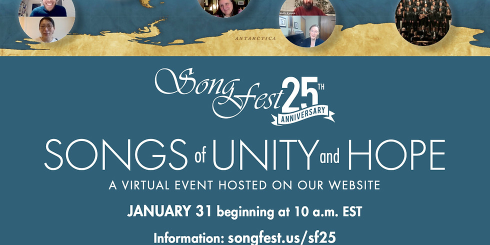 """Songs of Hope & Unity"" Online Concert"