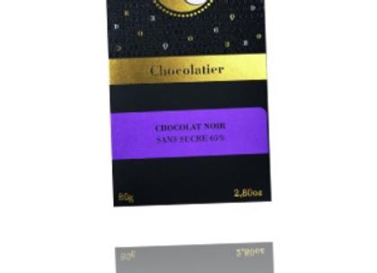Tablette chocolat Noir «sans sucre»