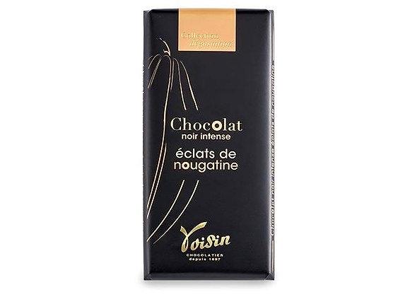 Tablette de chocolat - Éclats de nougatine