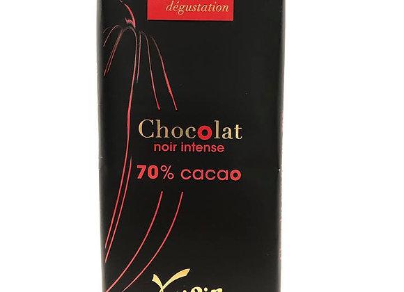 Tablette de chocolat - Noir 70%