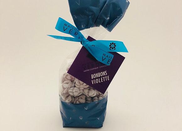 Bonbons à la Violette sachet de 200gr
