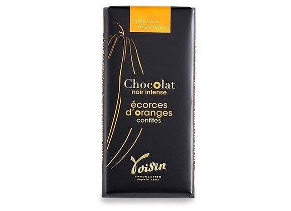 Tablette de chocolat - Écorces d'orange