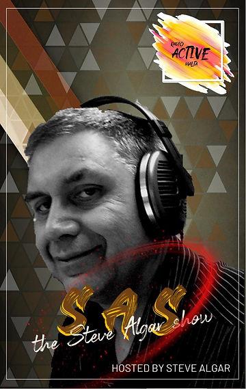 S.A.S (The Steve Algar Show) (New Logo).
