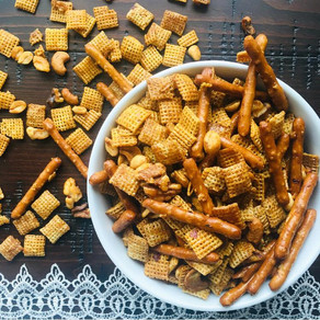 Chipotle Caramel Chex Mix