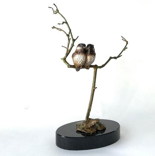 Sculpture oiseau de Andrée Marcoux-art animalier Canada