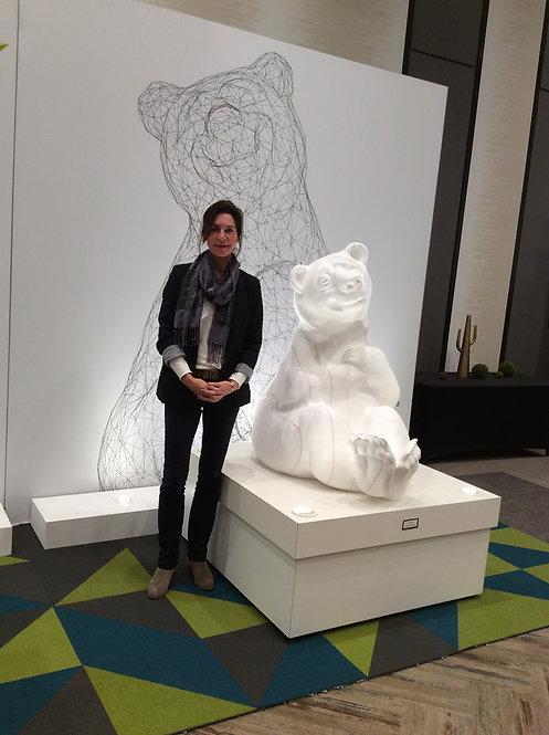 Sculpture extérieure de Andrée Marcoux Québec Canada