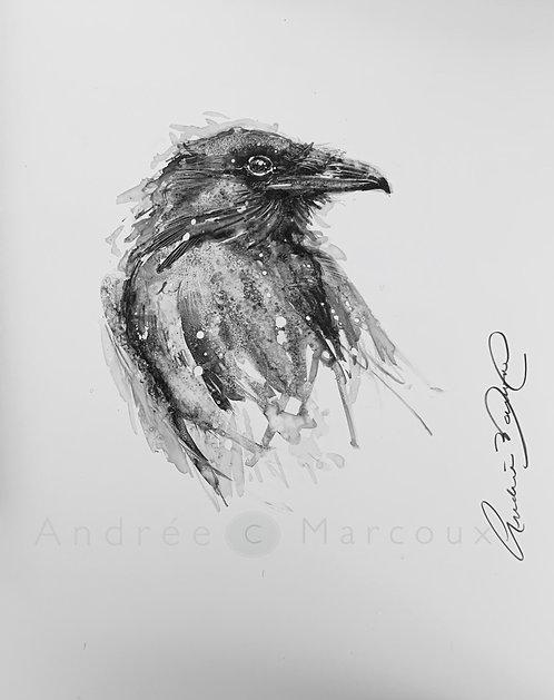 Peinture de Andrée Marcoux-art animalier québec