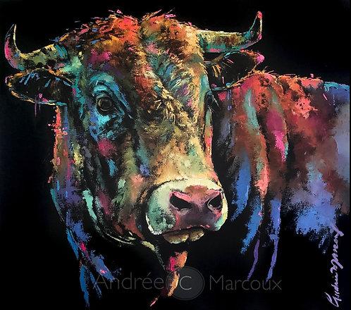Peinture à l'huile de Andrée Marcoux-art animalier Canada