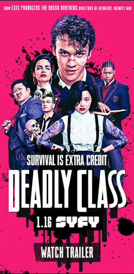 Deadly Class - Full Display Campaign