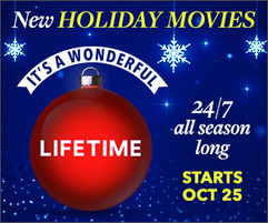 Lifetime Holiday Movies - Full Display Campaign