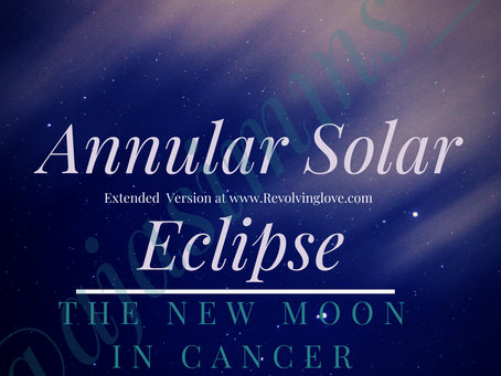 Welcome to the New Moon in Cancer 🌑♋!