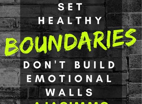 Healthy #Boundaries
