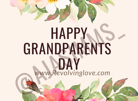 Happy Grandparents Day 💞💐!