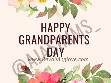 Happy Grandparents Day 💞💐!