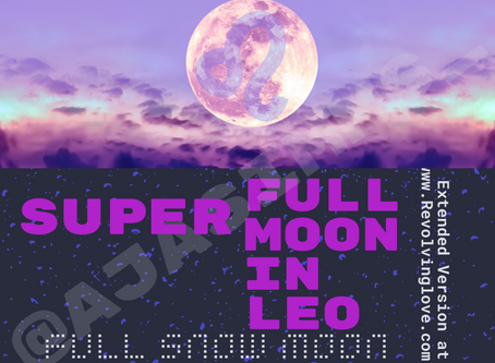 Welcome to the Super Full Moon in Leo 🌕♌!