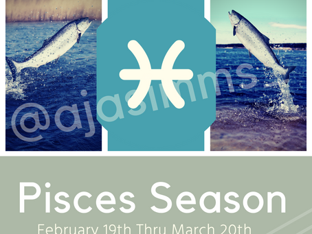 Welcome to Pisces Season ♓