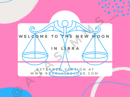 Welcome to the Super New Moon in Libra 🌑♎!