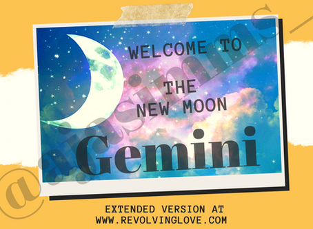 Welcome to The New Moon In Gemini 🌑♊!