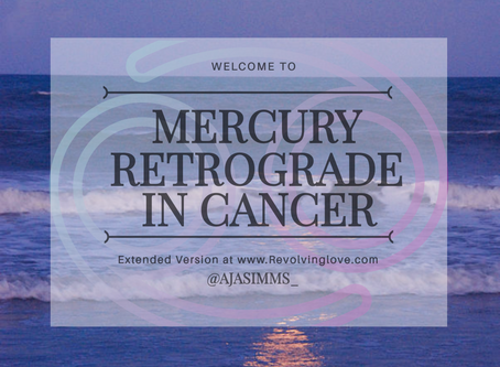 Welcome to Mercury Retrograde in Cancer ♋!
