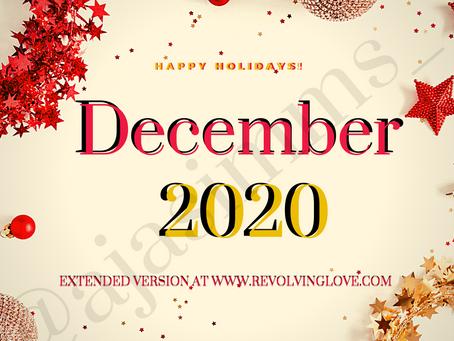 December 2020 ❄ 🎆!